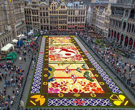 Alliance-Representing Floral Mosaics