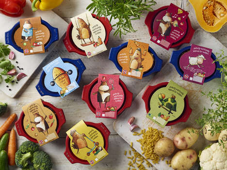 Portioned Kids' Meals - 'Little Dish' Offers Healthy Small Meals for Children