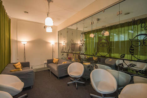 Grassy Office Spaces - This Green Office Design is Inspired by the Company's Youthful Culture