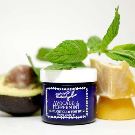 Moisturizing Organic Foot Balms - This Balm Works to Moisturize and Soften the Hands and Feet