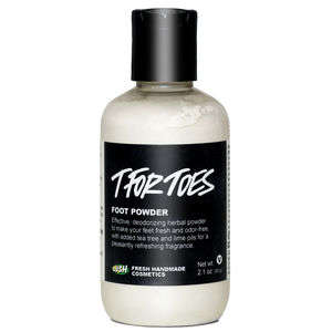 Foot Deodorizing Powders - This Powder Staves Off Excessive Odor and Fungal Infections