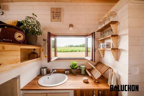 Cavernous Tiny Homes - The Odyssee Home's Layout Aims to Maximize Available Space