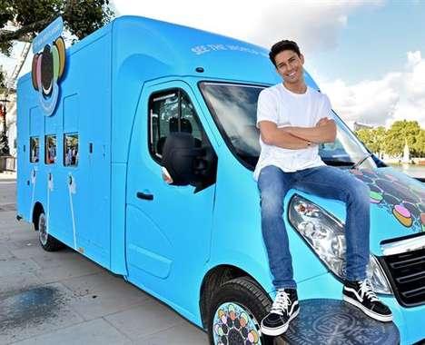 Kaleidoscopic Cookie Trucks