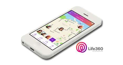 Family Management Apps - The Family Locator App Lets You Monitor and Organize Family Matters