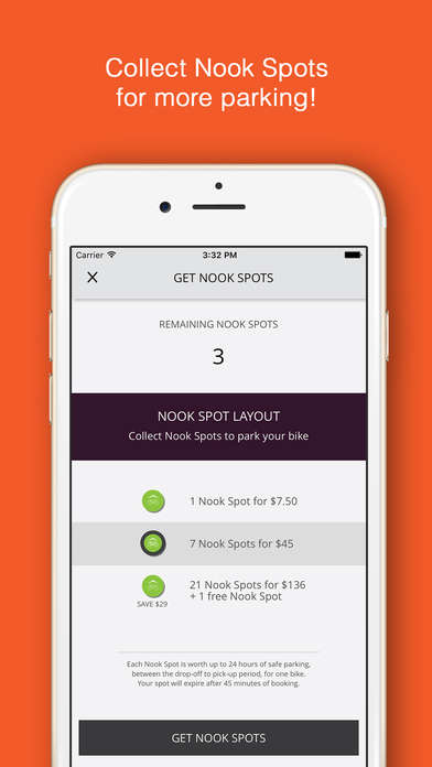 Secure Bicycle-Parking Apps - The Nookhub App Lets You Park Your Bicycle In Convenient Locations
