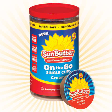 Sunflower Butter Cups - SunButter Packages Its Sunflower Spread in Single-Serve Portions