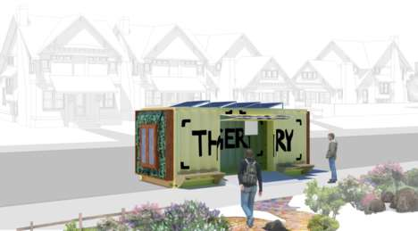 Shipping Container Lending Libraries - A 'Thingery' Lets People Donate Items for Others to Enjoy