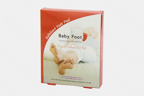 Exfoliating Foot Gels - This Unusual 'Baby Foot' Mask Provides Soft, Hydrated Feet