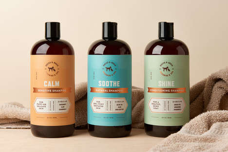 Natural Pet Shampoos - These Shampoos are Gentle Yet Effective on Animal Fur