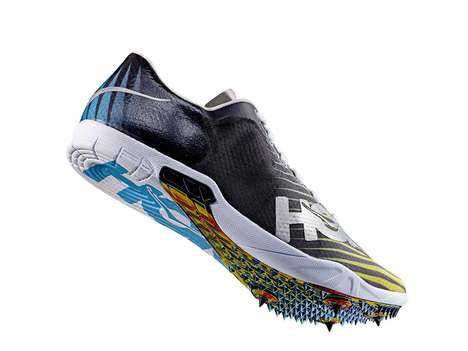 Cornering-Centric Track Shoes - The Speed EVO R Shoe's Spikes Help Track Runners Turn Left
