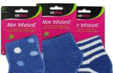 Aloe-Infused Moisturizing Socks