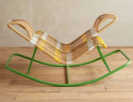 Dual Rocking Seaters - This Modern Rocking Chair Is Designed to Seat Two People at Once