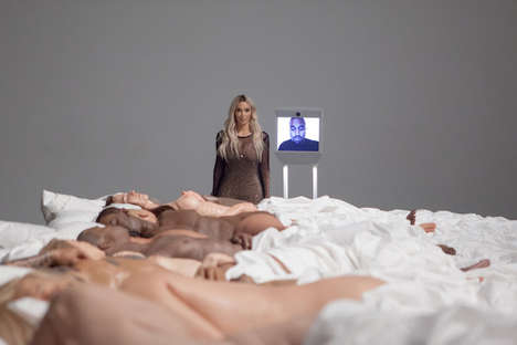 Controversial Celeb Exhibits - Kim Kardashian Hosted the Famous Exhibition Featuring Nude Sculpture