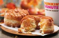 Autumnal Apple Cronuts - The New Fall Doughnuts From Dunkin' Donuts Include an Apple Caramel Cronut