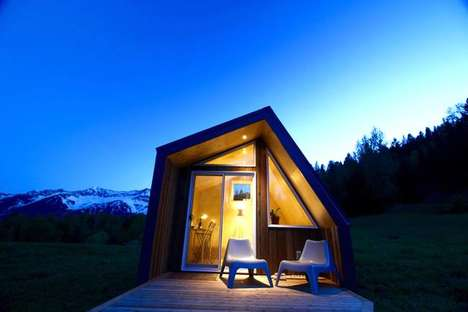 Customized Miniature Cabins - These Cabins Could Function as Quirky Guest Houses