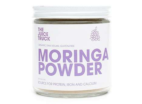 Plant-Based Calcium Powders - The Juice Truck's Moringa Supplement Offers Animal-Free Protein