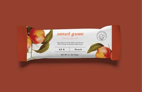 Fiber-Filled Snack Bar Concepts - These Fruity Snack Bars Were Designed to Improve Health