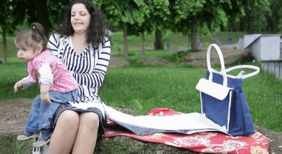 Changing Table Totes - The Elio Purse Acts as Both a Diaper Bag and Portable Baby Changing Area