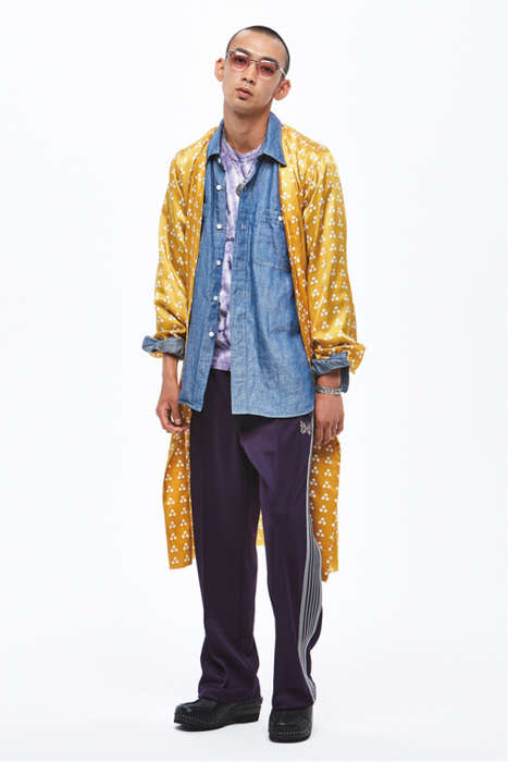 Juxtaposed Style Editorials - Needles' Ensembles Boast Clashing Patterns and Many Mixed Influences