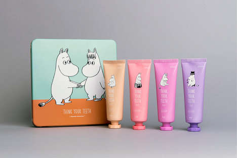 Youthful Toothpaste Branding - These Toothpastes are Offered by a Luxury Cosmetics Brand