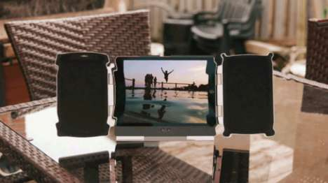 Amplifying Tablet Speakers - These iPad Speakers Offer a Surround Sound Experience