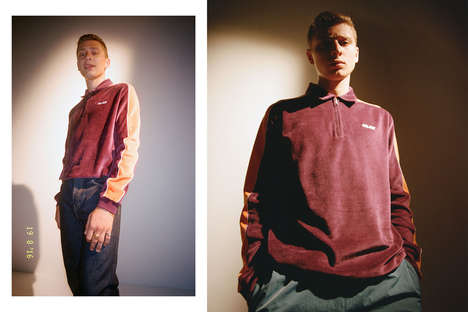 Retro Skate Gear - Palace Skateboards Curated a Playful Editorial for Its Fall/Winter Collection