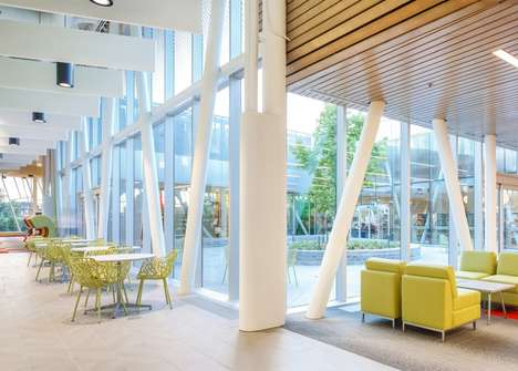 Rollercoaster-Inspired Library Buildings - Vaughan Public Library Features Novel Curved Elements