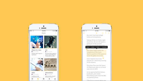 Curating Content Platforms - The Cronycle App Helps Consumers Vet Viable Internet Sources
