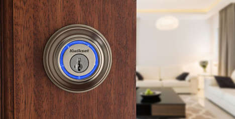 Lightweight Smart Locks - The New Kevo Lock Offers Improved Security From a More Compact Form