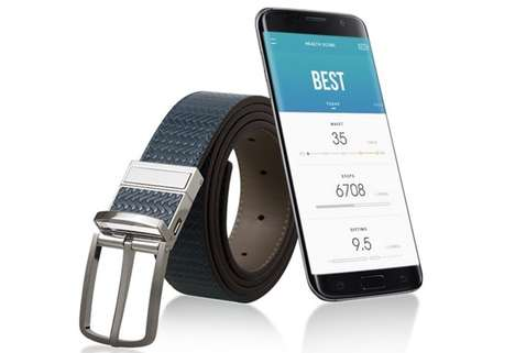 Fitness-Tracking Smart Belts - The WELT Belt Monitors Your Eating and Workout Habits