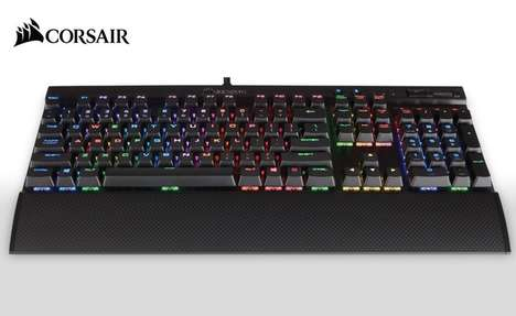 Anti-Ghosting Gaming Keyboards - The New Corsair K65 LUX RGB Keyboard Has Anti-Ghosting Technology
