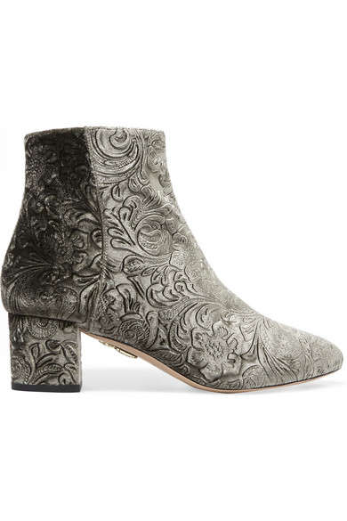 Ornate Ankle Boots - These Luxury Ankle Boots Offer a Unique Style