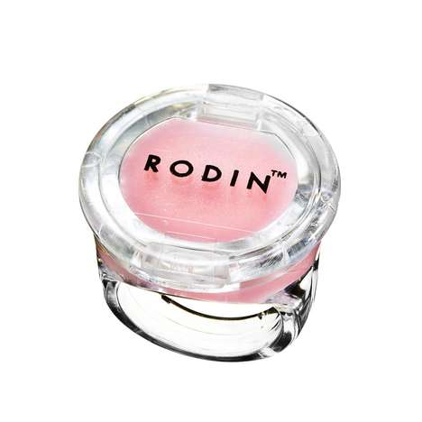 Chic Chapstick Rings - The Rodin Lip Balm Ring Offers a Wearable All-Natural Cosmetic Product