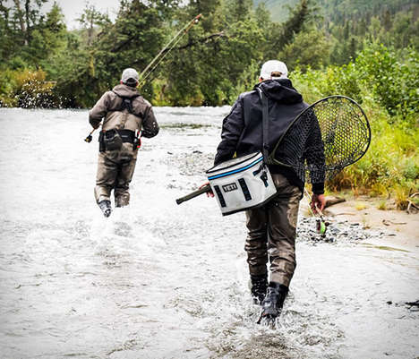 Bombproof Sling Coolers - The YETI Hopper Flip Ice Box Offers a Wearable Watertight Food Storage