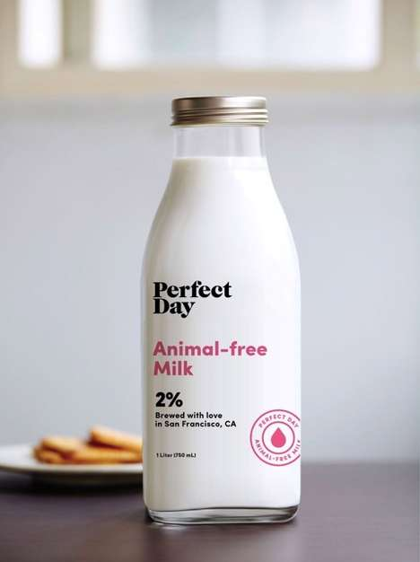 Sustainable Milk Alternatives - Perfect Day's Animal-Free Milk Comes from Dairy Yeast Proteins
