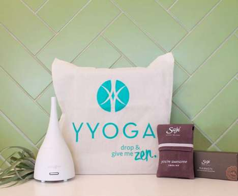 Aromatherapy Yoga Classes - YYoga's Yin Classes Blend Aromatherapy and Yoga