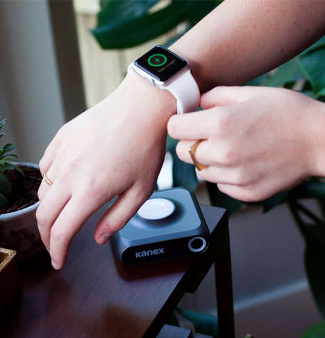 Cordless Smartwatch Chargers - The GoPower Watch Charger Provides Power for the Apple Watch and More