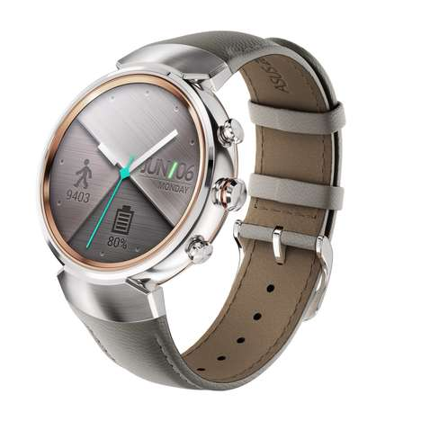 Power-Efficient Smartwatches - The Asus 'ZenWatch 3' Android Wearable Lasts for Two Days Per Charge