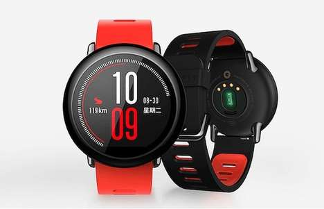 Health-Focused Smartwatches - The Xiaomi 'Amazfit' Smartwatch Fitness Tracker is Affordably Priced