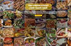 Interactive Street Food Guides