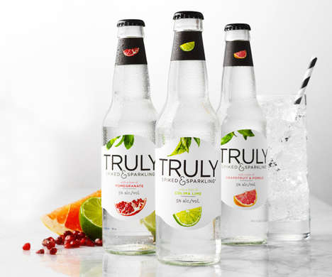 Prepackaged Sparkling Water Cocktails - Truly Spiked & Sparkling Bottled Cocktails are Low in Sugar