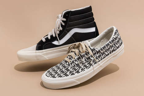 God-Fearing Sneaker Designs - A New Vans Collaboration Results from Fear of God's Input