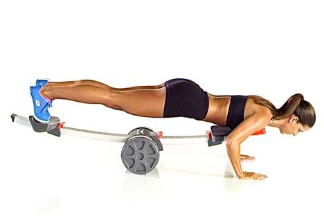 Customizable Exercise Devices - The 'ARC-NRG PushUp' is for Newbies and Experienced Athletes