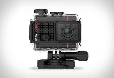 Voice-Controlled Action Cams - The Garmin VIRB Ultra 30 Responds to Voice Prompts and More