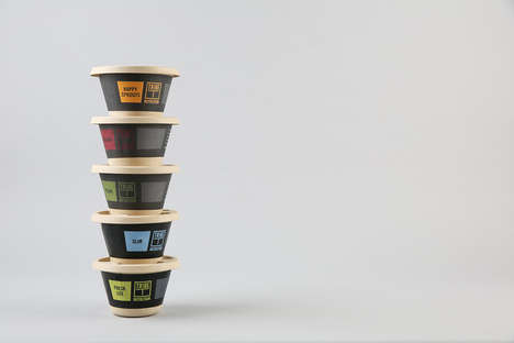 Organic Cafe Packaging Sets - This Cafe Has Takeout Packages That Reflect Its Healthy Offerings