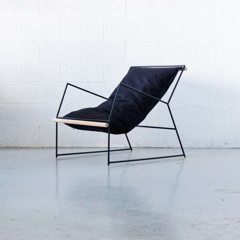 Cloud-Like Sling Chairs - Mitz Takahashi's Furniture Design Infuses Sleek Functionality with Comfort
