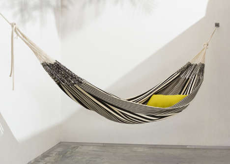 Handwoven Hammock Designs - These Hammocks by Yaiza Dronkers are Intricately Crafted by Hand