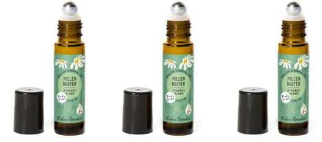 Roll-on Allergy Remedies - The Eden's Garden Pollen Buster Provides Natural Relief to Reactions