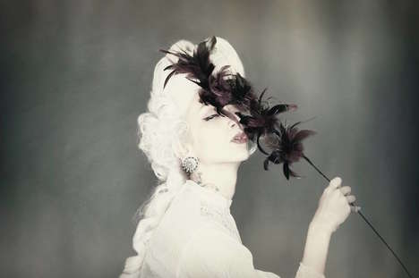 Revitalized Queen Portraiture - These Images Modernize Marie-Antoinette Inspiration Alluringly