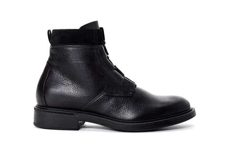 Modernized Combat Boots - John Elliott Offers a Refined Variation of a Classic Footwear Staple